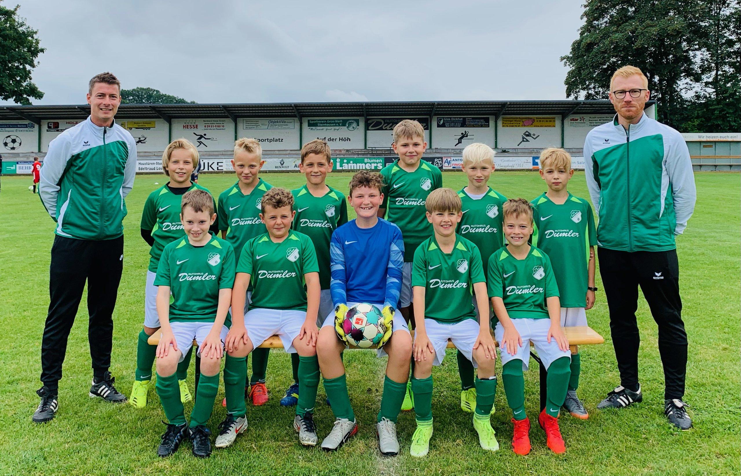 Mannschaft E Junioren 2021